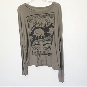 Brandy Melville Elephant Long Sleeve